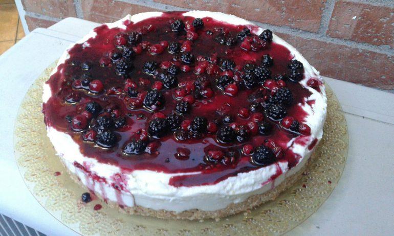 Cheesecake Ai Frutti Di Bosco Imprastando