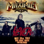 Slayer, Rob Zombie, Pennywise e Ghost são confirmados no lineup do Maximus Festival
