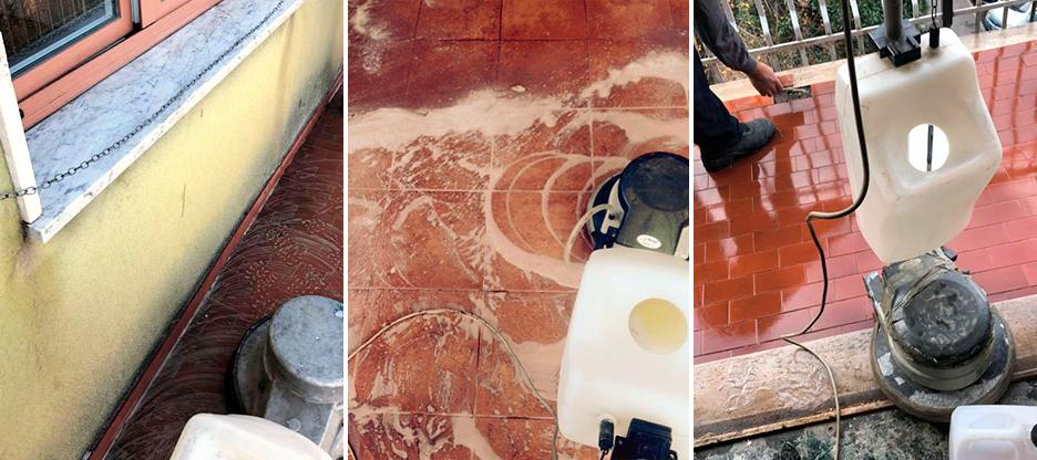 pulizie pavimenti esterni a milano