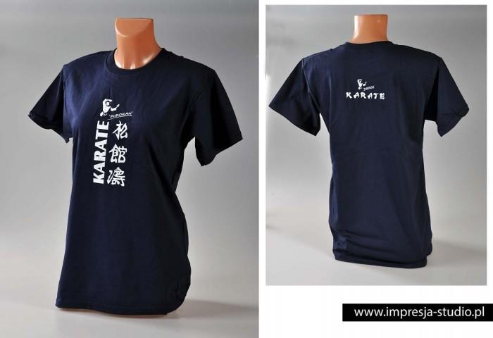 T-shirt z nadrukiem Impresja