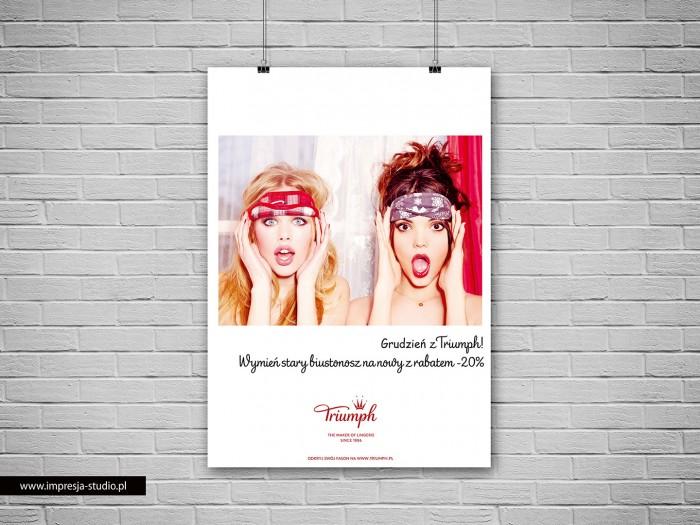 Plakat Grudzień z Triumph!