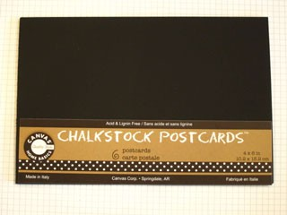 Chalkboard Postcards