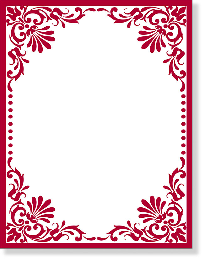 Search Results For Elegant Christmas Paper Borders