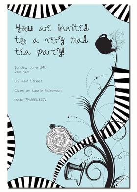 Invitations BIRTHDAY Children Juvenile Girls Or Boys Mad