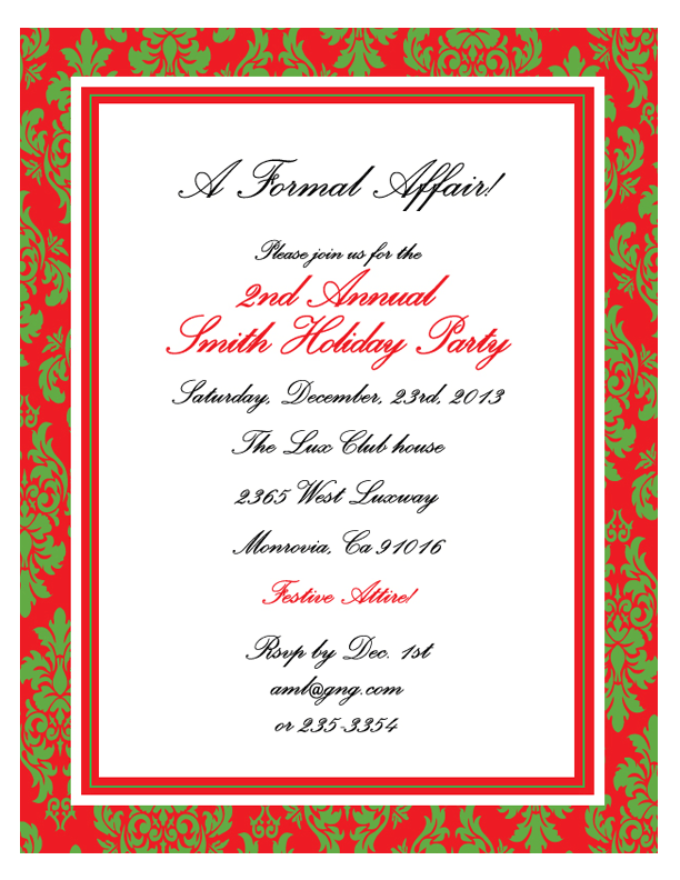 Inauguration Invitation Card Format – Inauguration Invitation Card Sample