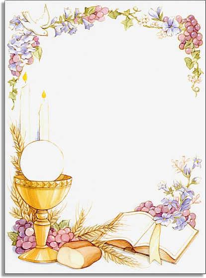 Holy Communion Invitation Cards – Holy Communion Invitation Card