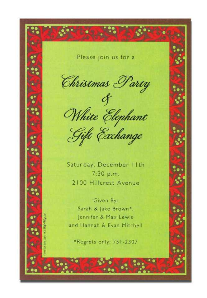 christmas invitation religious wording : Cogimbo.us