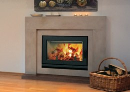 Brentwood-LV Clean Face Fireplace