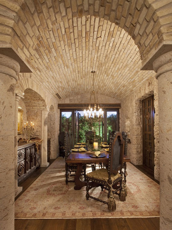 Brick And Stone Wall Ideas  38 House Interiors  brick11 Brick And Stone Wall Ideas  38 House Interiors