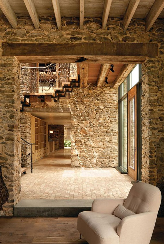 Brick And Stone Wall Ideas  38 House Interiors  brick25 Brick And Stone Wall Ideas  38 House Interiors