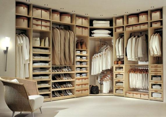 Useful Design Ideas To Organize Your Bedroom Wardrobe Closets 34