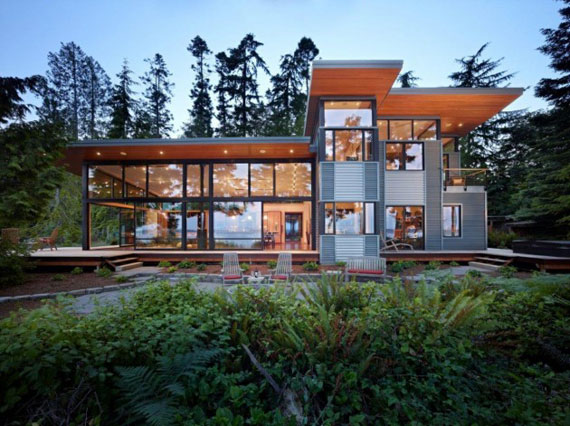 Port Ludlow Residence 1 sustainable architecture by FINNE Architects
