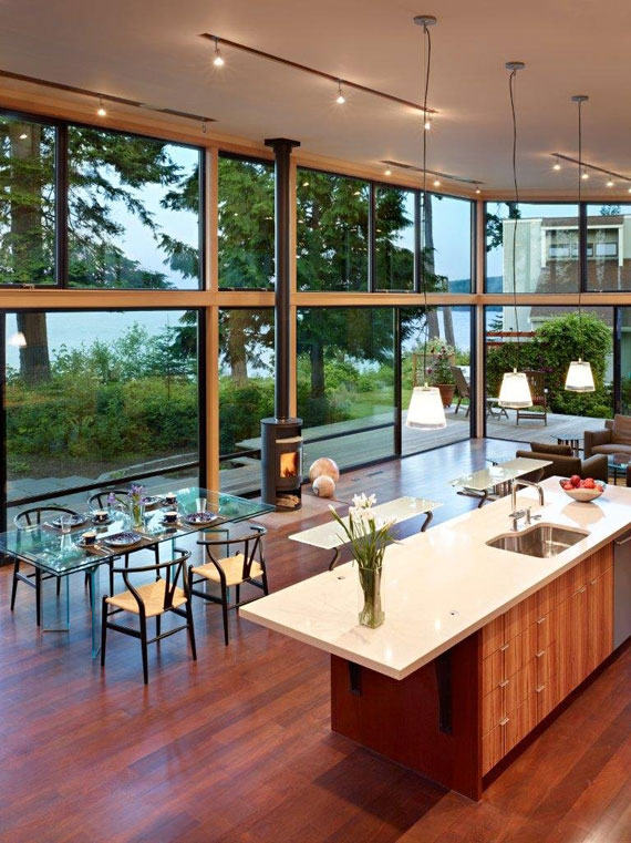 Port Ludlow Residence 2 sustainable architecture by FINNE Architects
