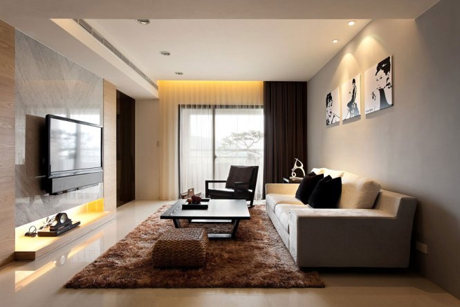Ideas Modern Living Room Wall Decor