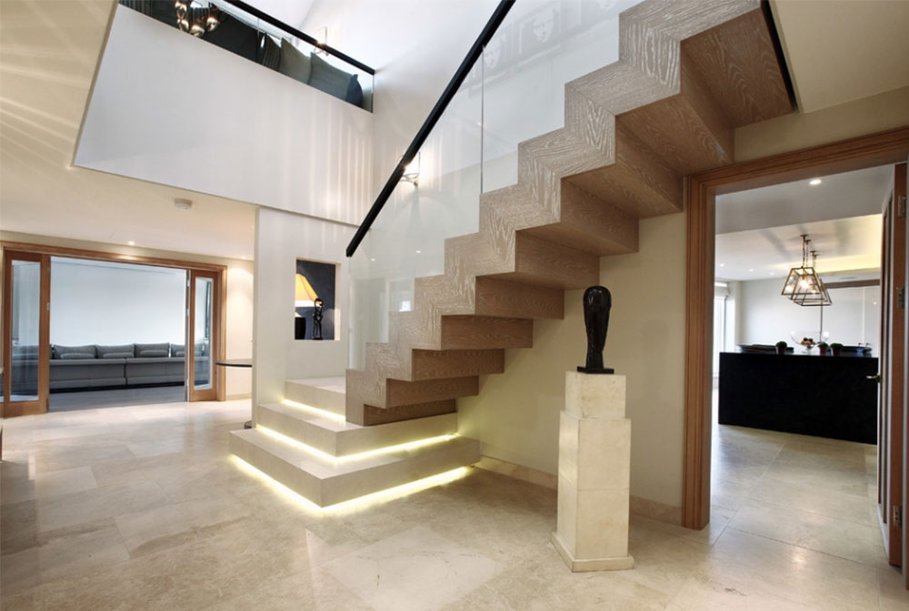 Stairs Designs That Will Amaze And Inspire You 55 Pictures   Stairs Design In Lobby   Entrance Lobby   Foyer   Architectural   Circle Elevator Design Home   White