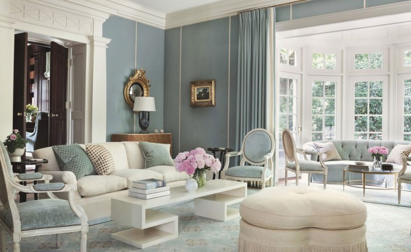 Monochromatic Interiors Color Palette For Refreshing Days