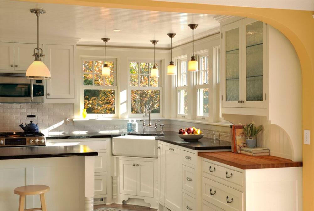 corner kitchen sink design ideas to try