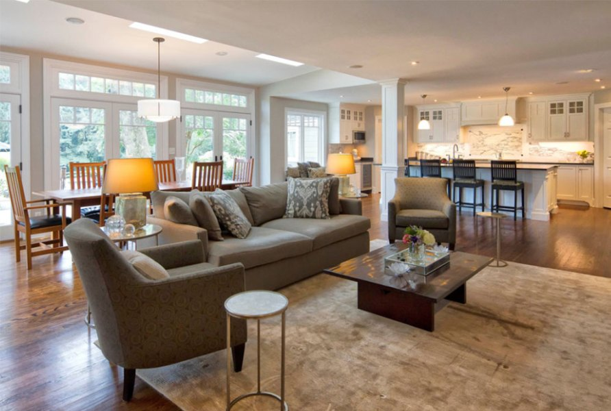 Open Floor Plan Colors and Painting Ideas Image 15 4 Open Floor Plan Colors and Painting Ideas