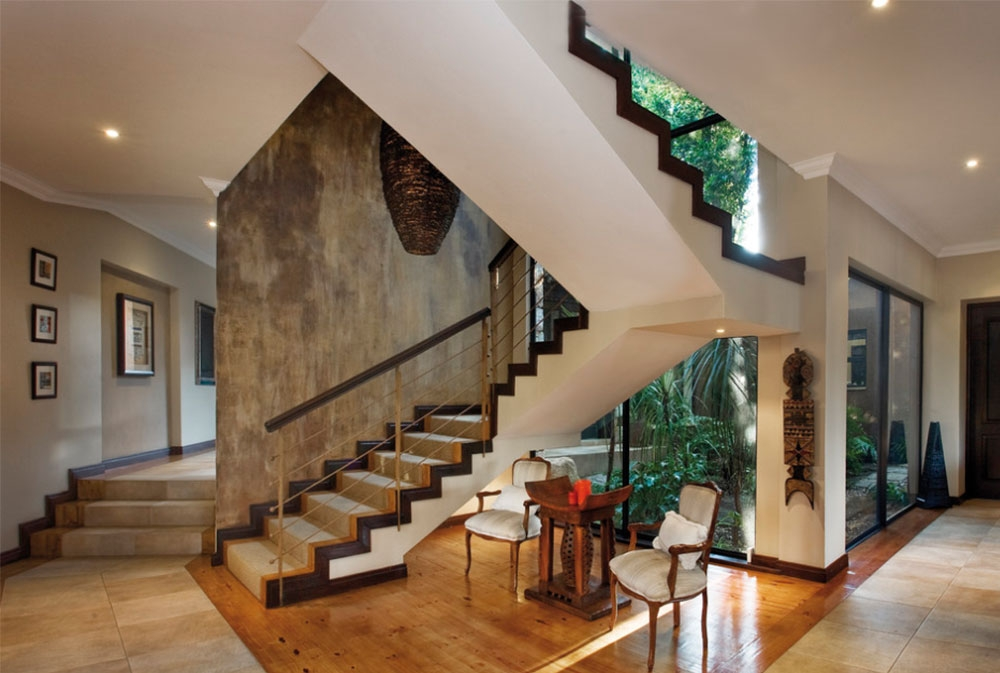 Stairway Walls Decorating Ideas   Designs For Staircase Wall   Partition   Classy   Attractive   Luxury   Transitional