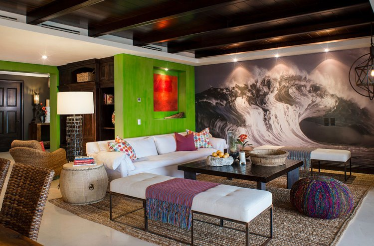 Bright And Lively Tropical Colors Schemes