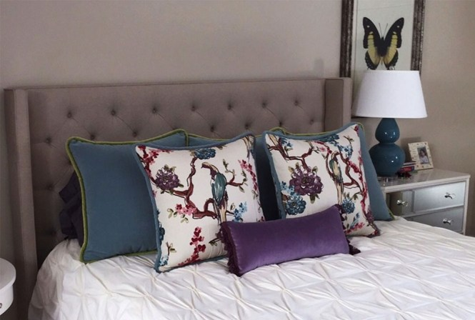 Beautiful Bedroom Decorative Pillows Agreeable Inspiration Interior Design Ideas With