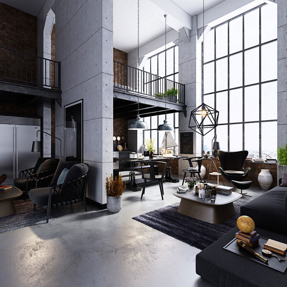 Modern Industrial Interior Design: Definition & Home Decor
