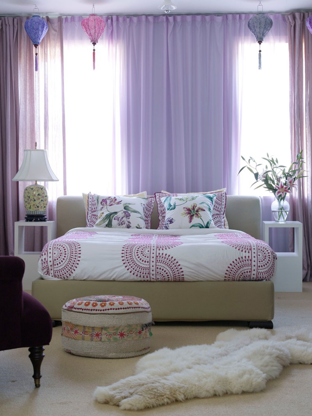 bedroom curtain ideas to try in your