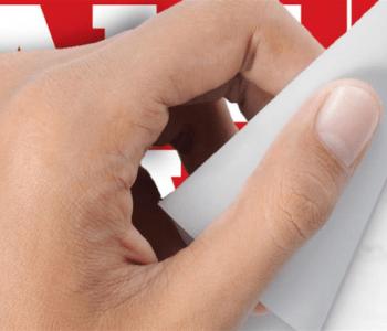 self-adhesive poster printing