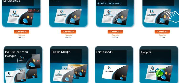 Imprimer carte Devis & Tarifs