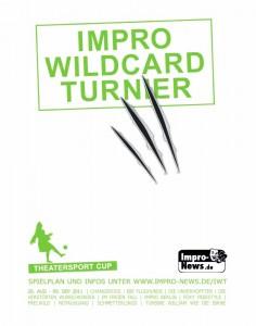 Impro Wildcard Turnier Plakat