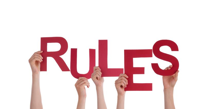 Omarm de regels