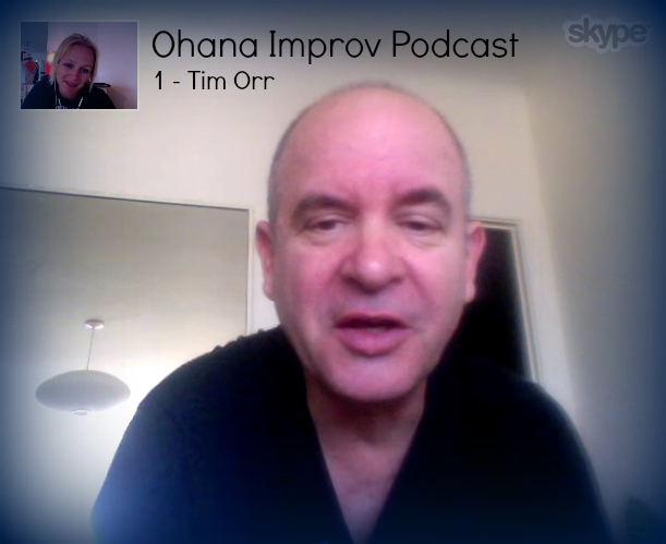 Impro-podcast: Tim Orr