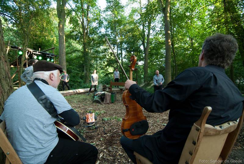 Improvisatie op locatie: tips uit het bos