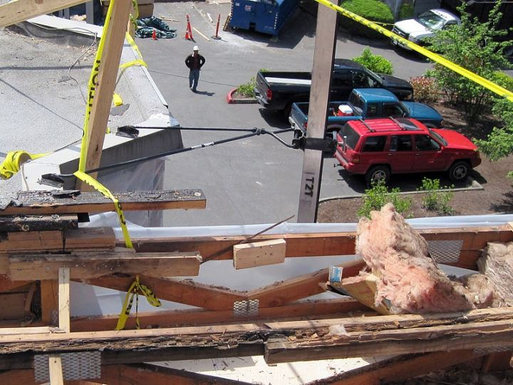 Roof During RepairS