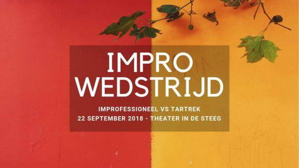 Wedstrijd Improfessioneel vs Tartrek 22 september 2018