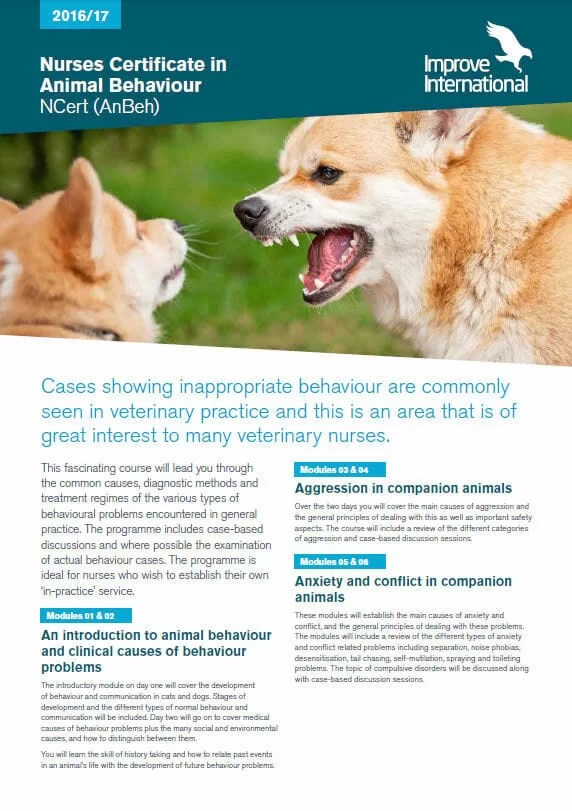Improve Nurses Animal Behaviour Insert