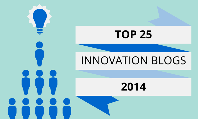 Top 25 Innovation blogs and experts 2014