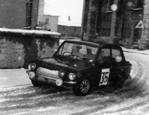 Rosemary Smith fears no snow!