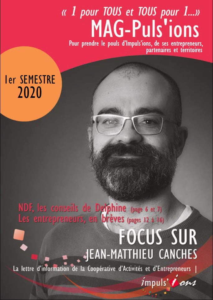 Couverture Pulsions mag #1