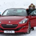 #PeugeotWinterExperience in Tignes