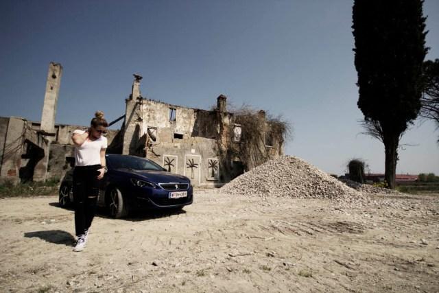 Peugeot 308GT Editorial Shooting Milan