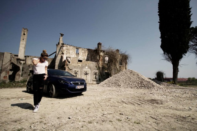Peugeot 308GT Editorial Shooting Milan