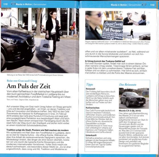 mazda Alpe Adria Guide _ Genusstour Mazda CX5