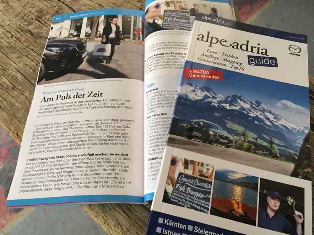 Mazda Alpe Adria Guide _ Genusstour Mazda MX5