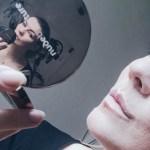 shine bright mit natürlichem nude make-up
