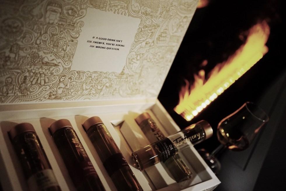 tastillery : tasting menue : whisky