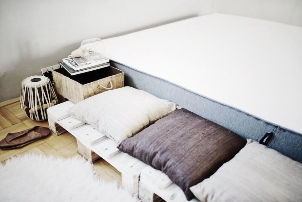 Casper : DIY Paletten-Bett