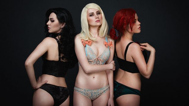 The Witcher 3 Lingerie Cosplay Impulse Gamer
