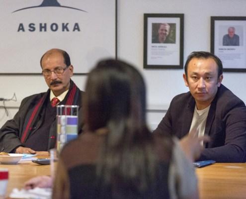 Samudra Gupta Kashyap - Assistant Editor, The Indian Express Assam; Advocate Tashi Rapten - Barfungpa
