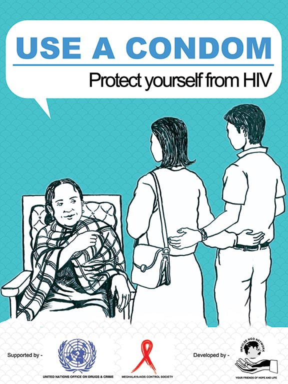 UNODC MACS HIV Awareness Campaign, created by INGON